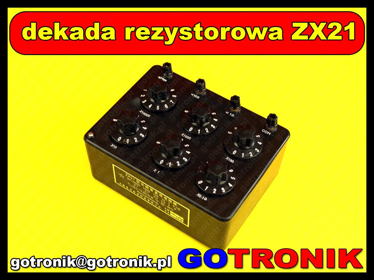 dekada rezystorowa ZX21