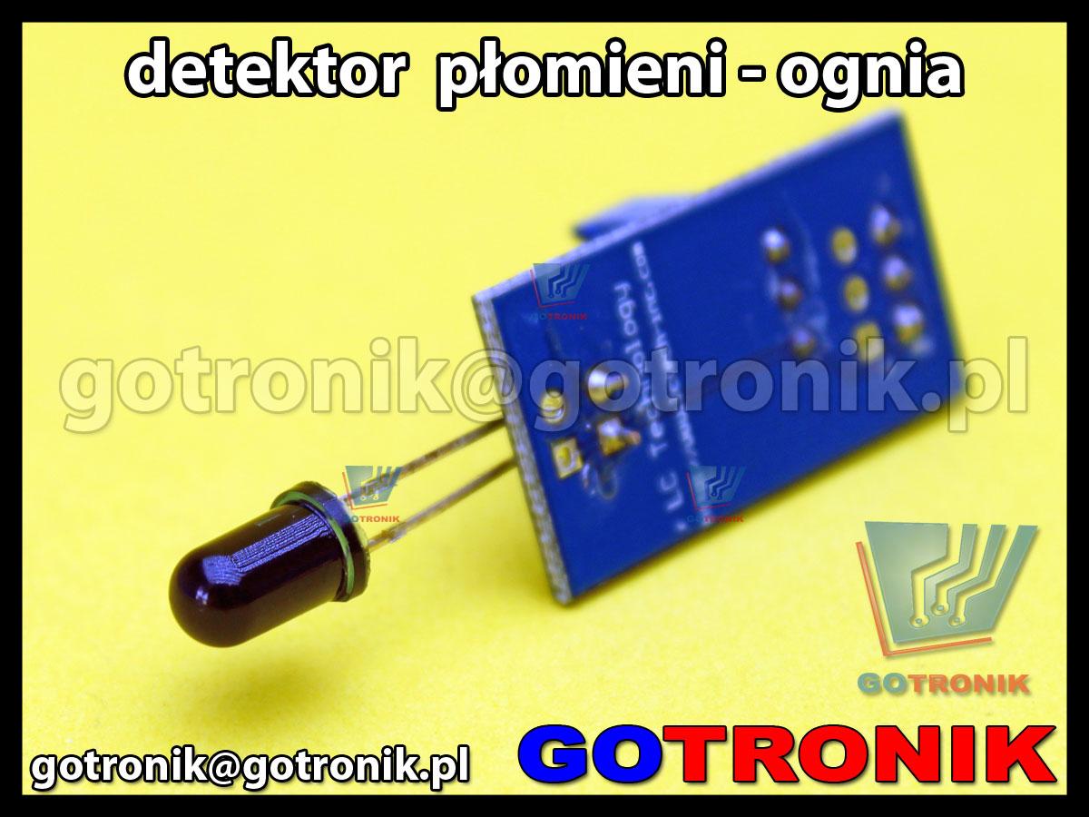 Moduł detektora płomieni - ognia + komparator LM393