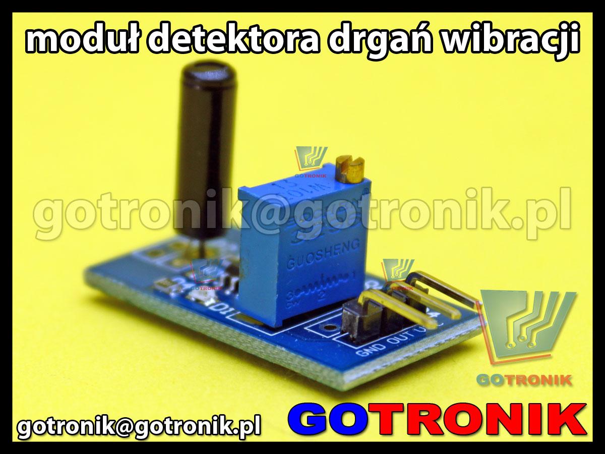 Moduł detektora drgań - wibracji