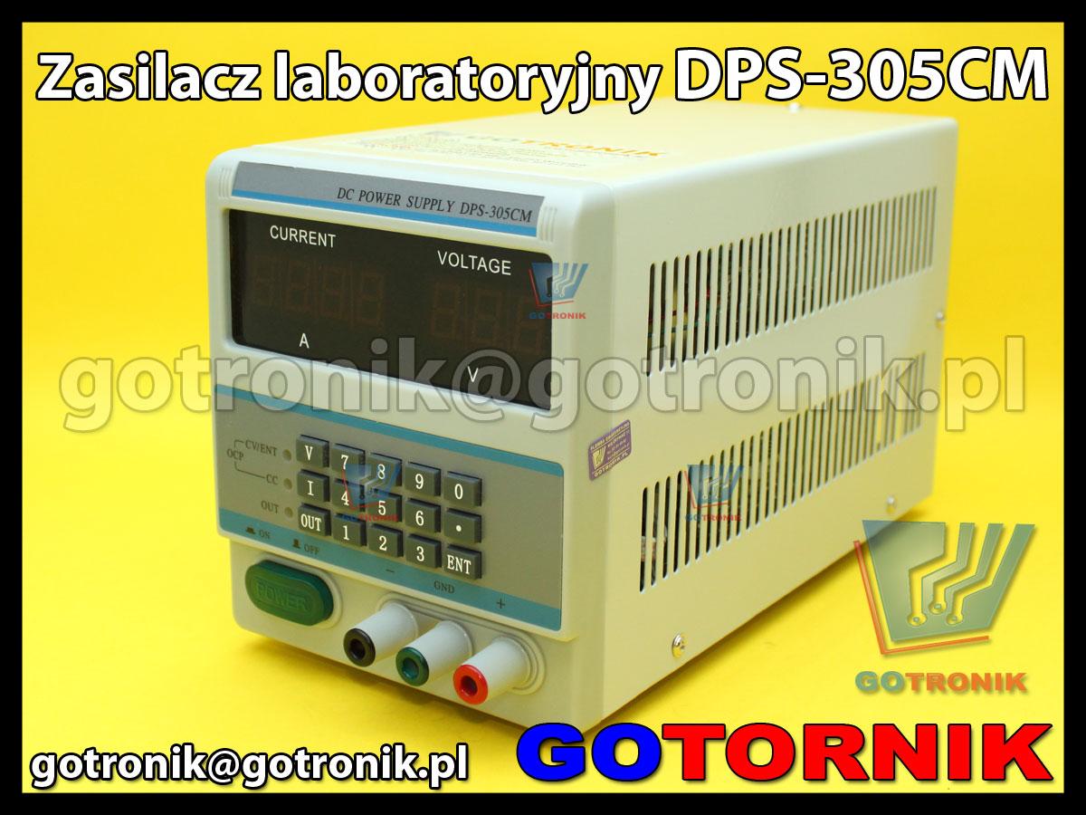 DPS-305CM zasilacz laboratoryjny 30V 5A regulowany