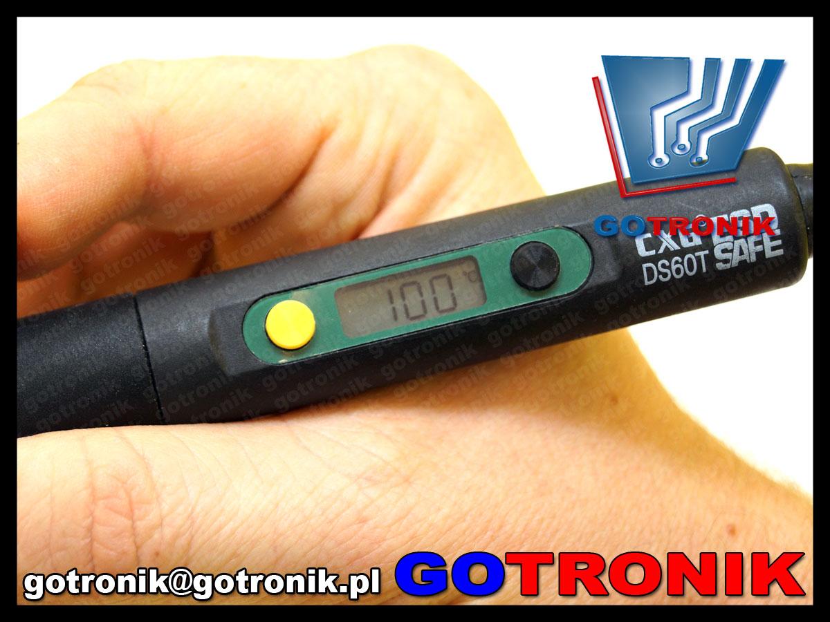 DS600T lutownica CXG LCD 900M z regulacją temperatury 600W sieciowa
