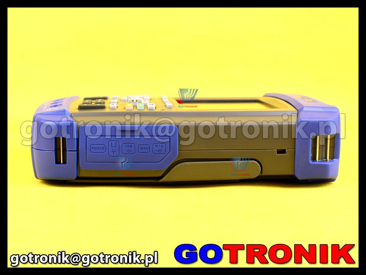 DSO1072E Hantek przenośny oscyloskop cyfrowy z multimetrem skopometr