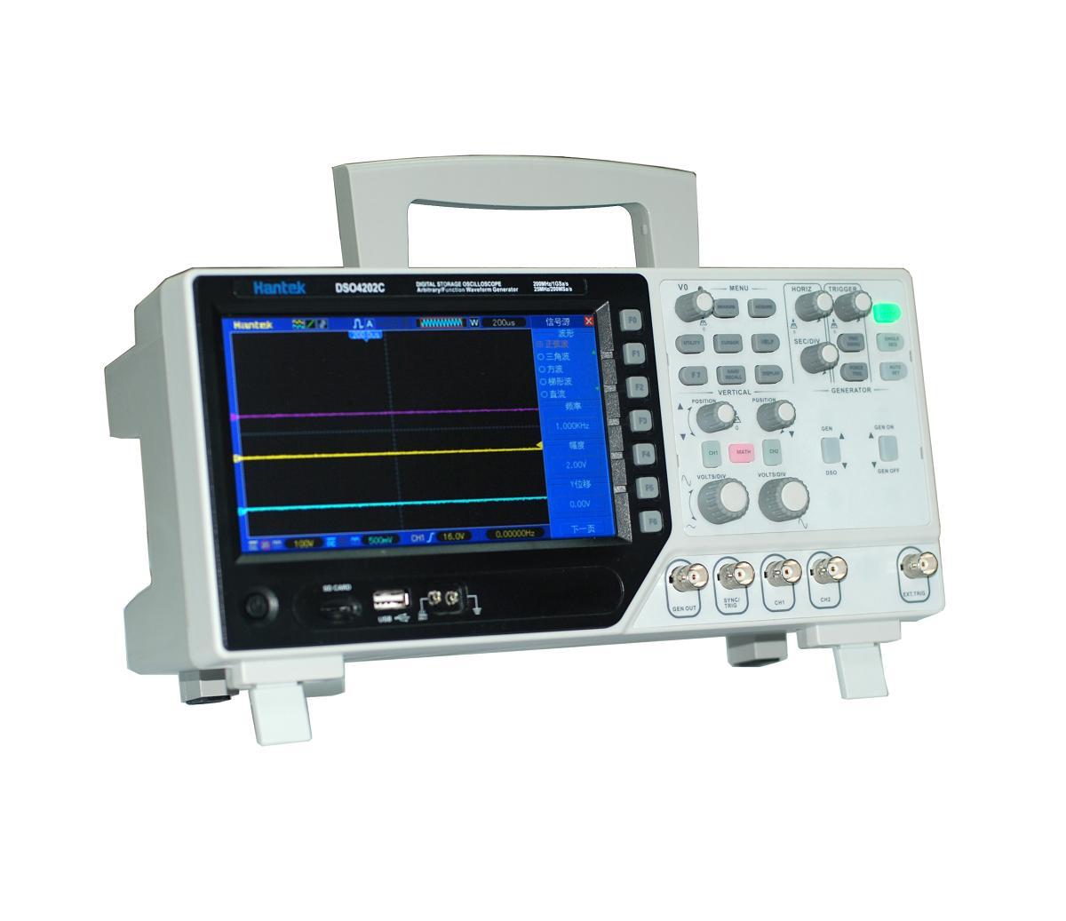 oscyloskop cyfrowy DSO4000C Hantek