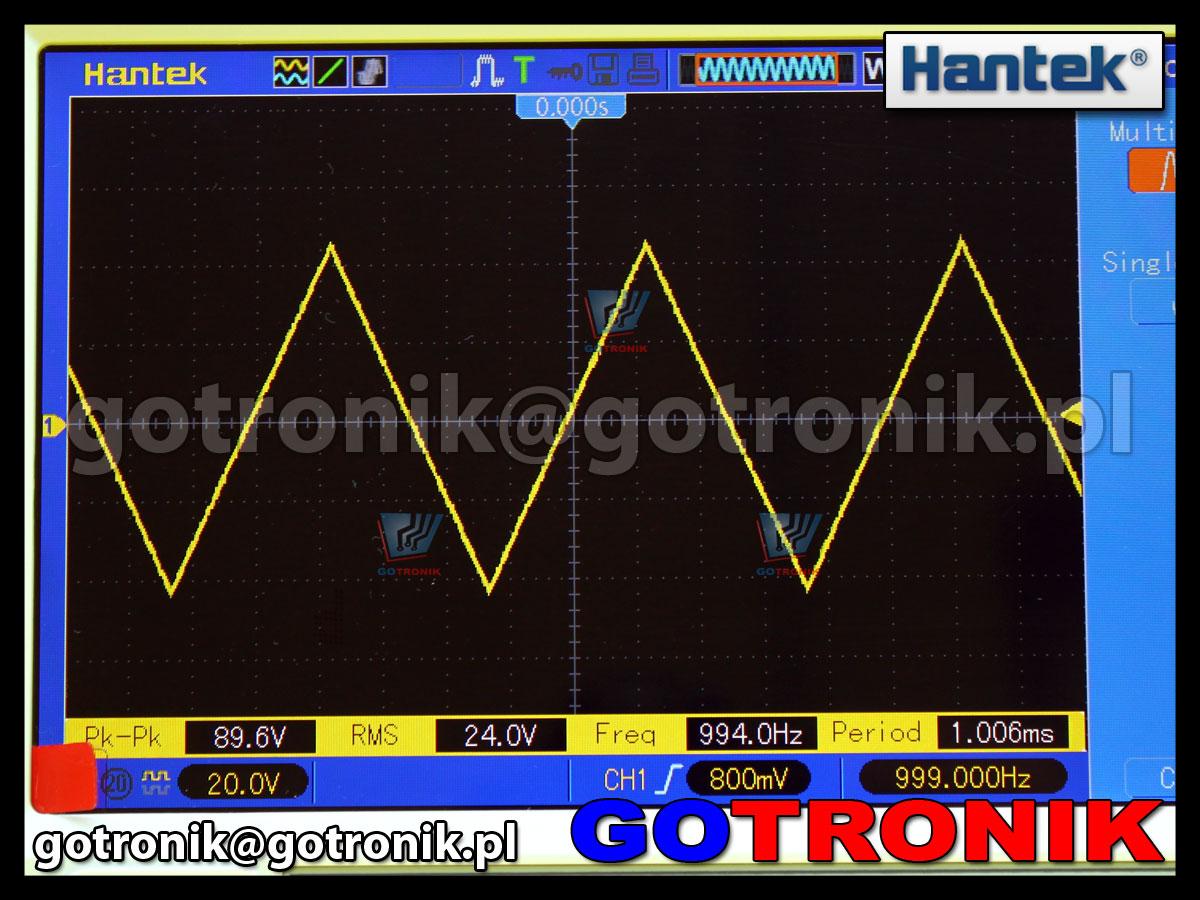 Hantek DSO5000BM ekran WVGA