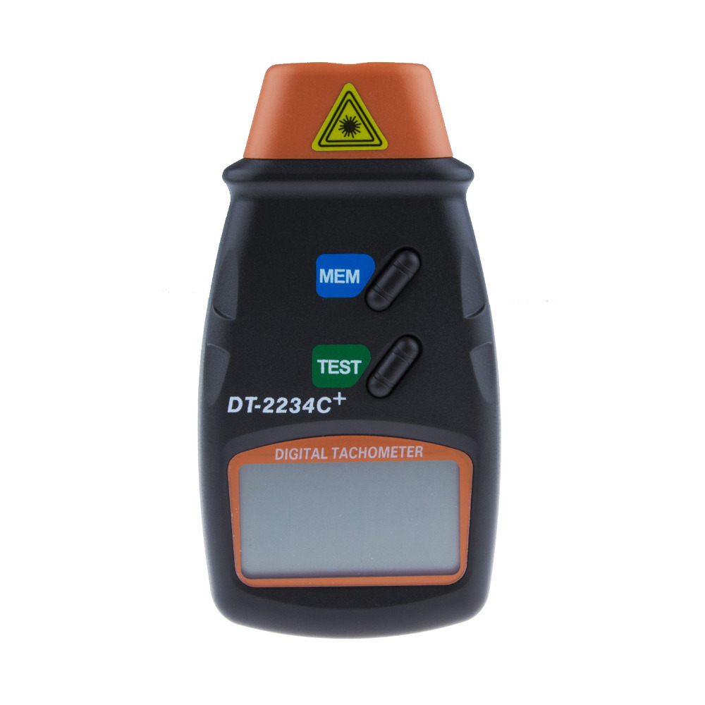 tachometr, licznik obrotów, tachometr cyfrowy, laserowy tachometr, DT-2234C+, obrotomierz cyfrowy