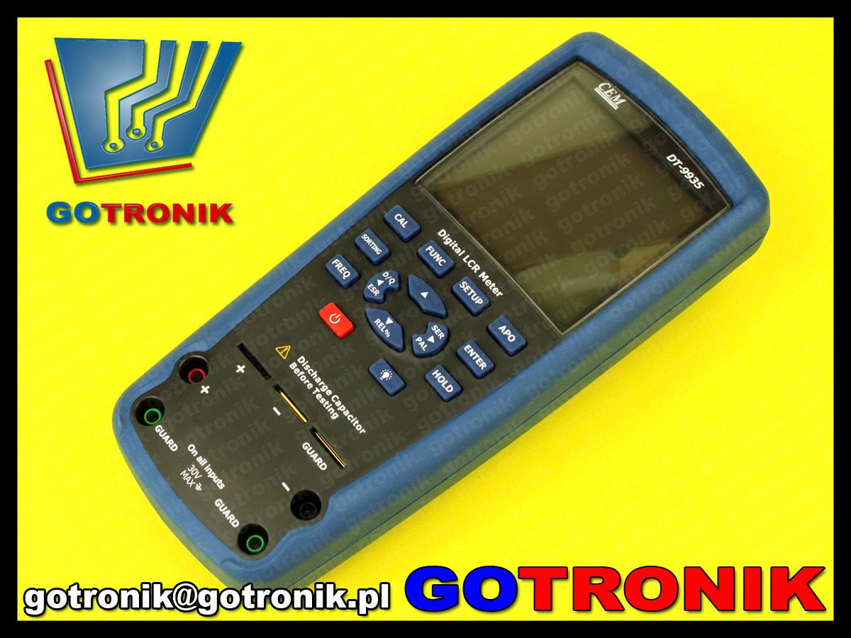 DT-9935 DT9935 miernik mosterk CEM RLC ESR LCR