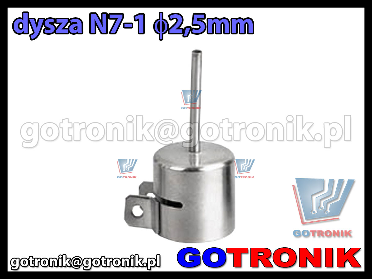 Dysza N7-1 fi 2,5mm do stacji HOT-AIR ZD-912 ZD-939 79-3901