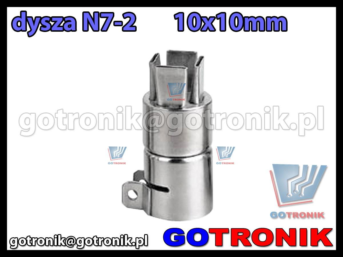 Dysza N7-2 10x10mm do stacji HOT-AIR ZD-912 ZD-939 79-3902