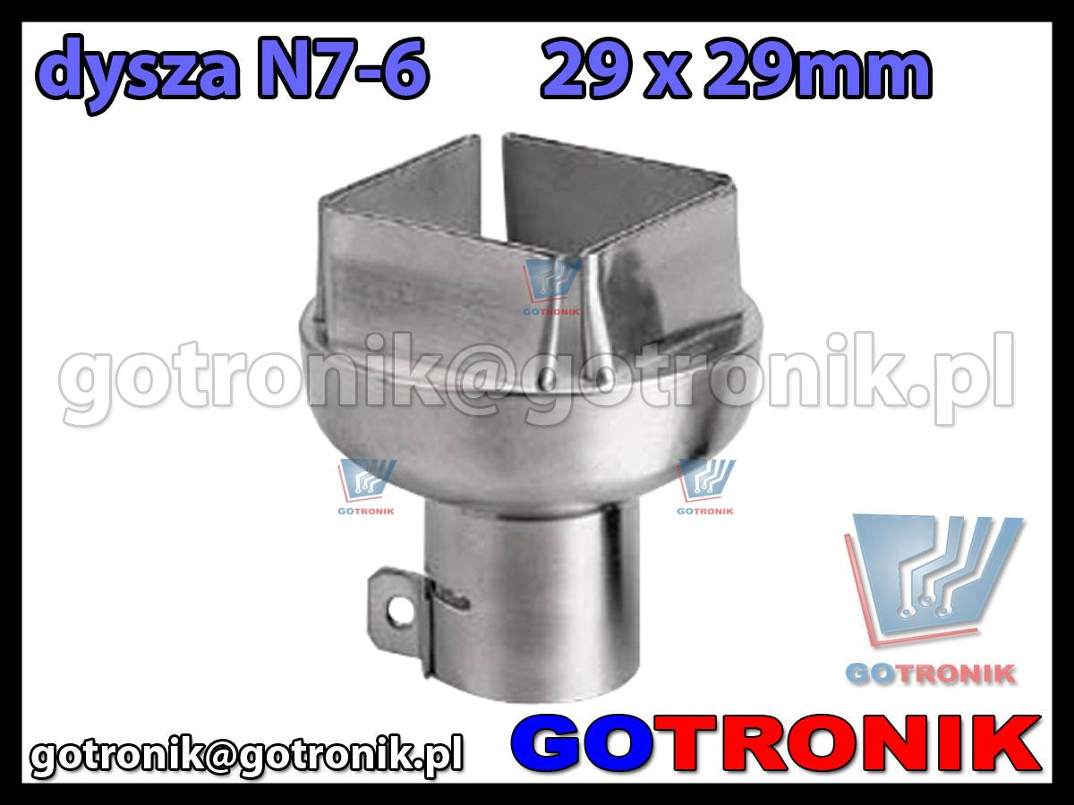Dysza N7-6 29x29mm do stacji HOT-AIR ZD-912 ZD-939 79-3906