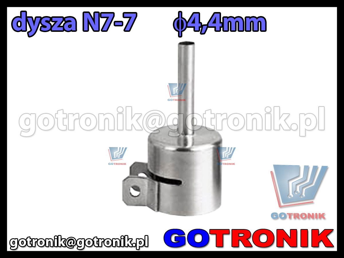 Dysza N7-7 fi 4,4mm do stacji HOT-AIR ZD-912 ZD-939 79-3906