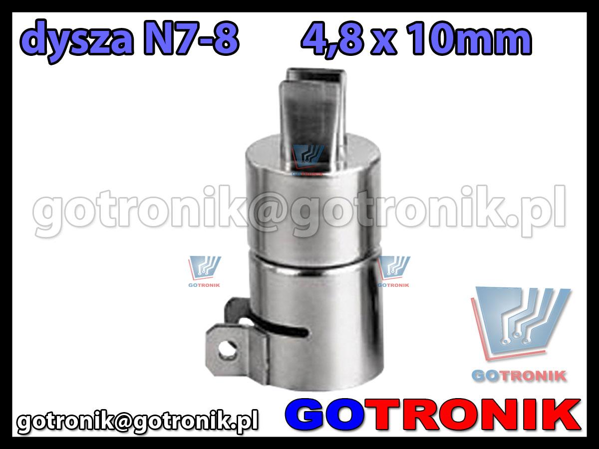 Dysza N7-8 4,8x10mm do stacji HOT-AIR ZD-912 ZD-939 79-3906