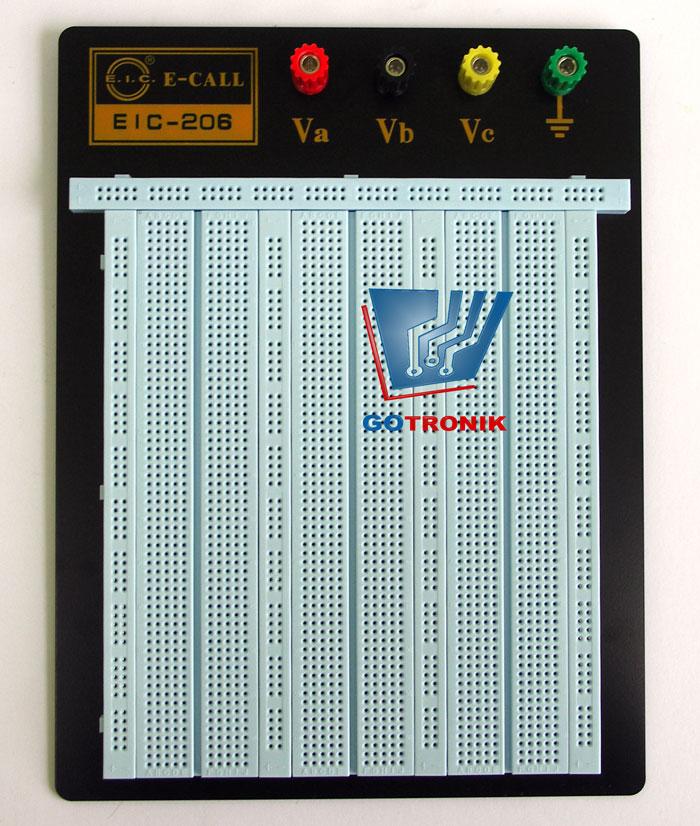 Płytka stykowa EIC-206 2390 pól montażowo stykowych