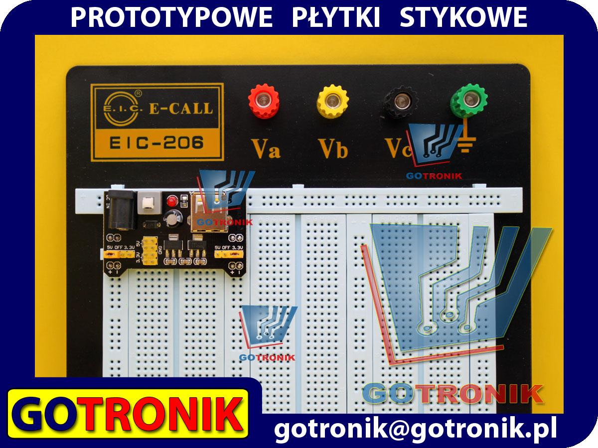 EIC-206 EIC206 prototypowa płytka stykowa uniwersalna 2390 pól