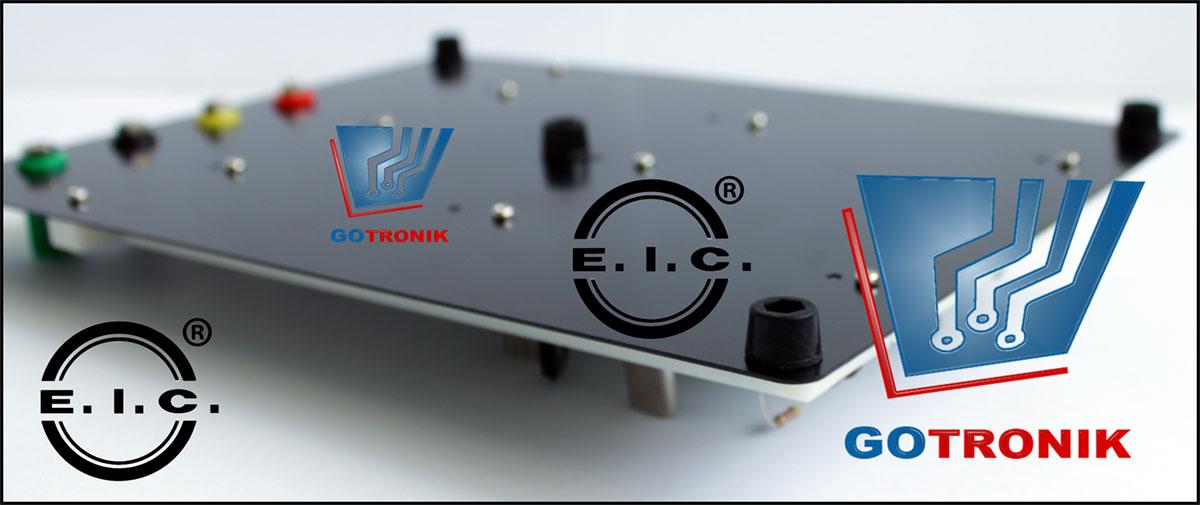 Aluminiowa podstawa płytki stykowej EIC