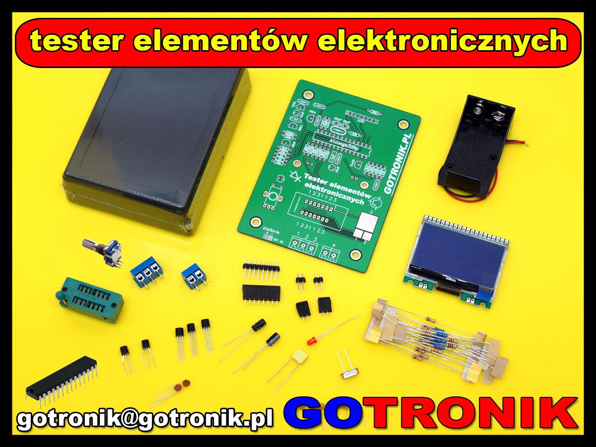 ELEK-066 tester elementów LCR m328 mk328 mk-328 miernik ELEK066