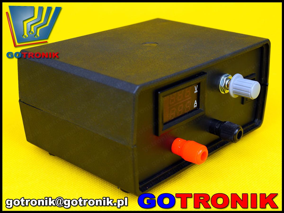 ELEK-076 elektroniczne obciążenie stałoprądowe  100V 10A