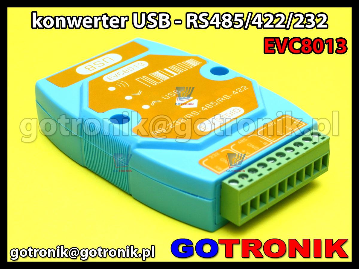 EVC8013 - konwerter USB - RS485/RS422/RS232 z izolacją