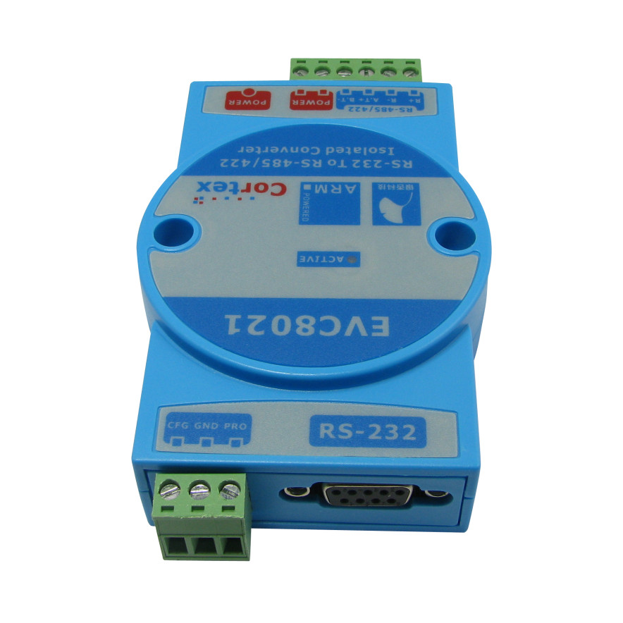 EVC8021 konwerter izolowany RS232 na to RS485 RS422 Gingko