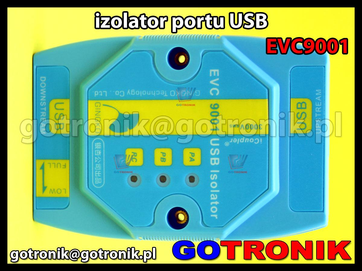 EVC9001 - izolator portu USB