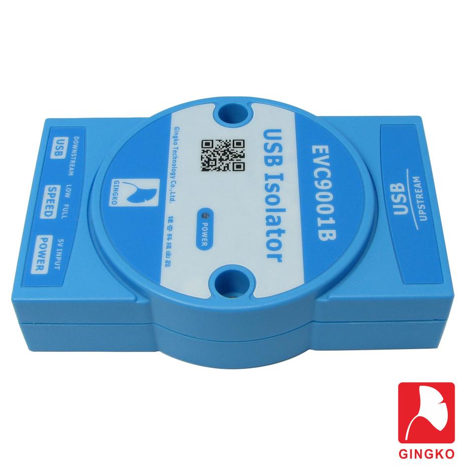EVC9001B izolator USB portu separator galwaniczny 3000Vrms Gingko