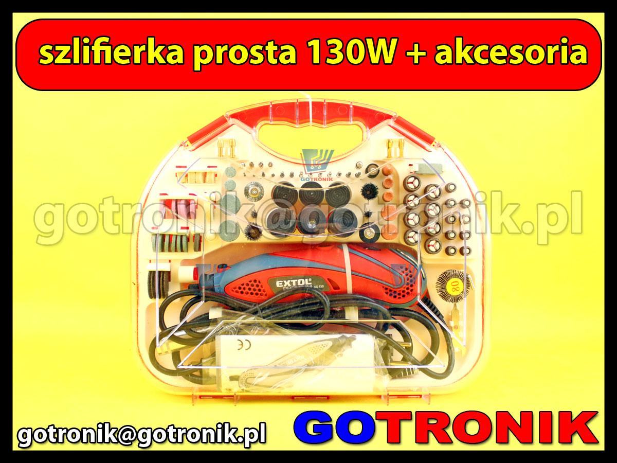 Mini wiertarka szlifierka Drill-4500 + akcesoria
