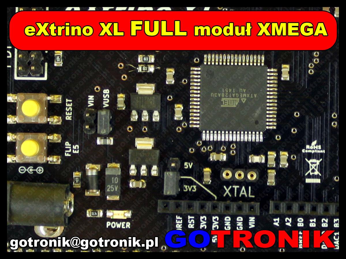 eXtrino XL FULL moduł XMEGA ATxmega kompatybilny z Arduino