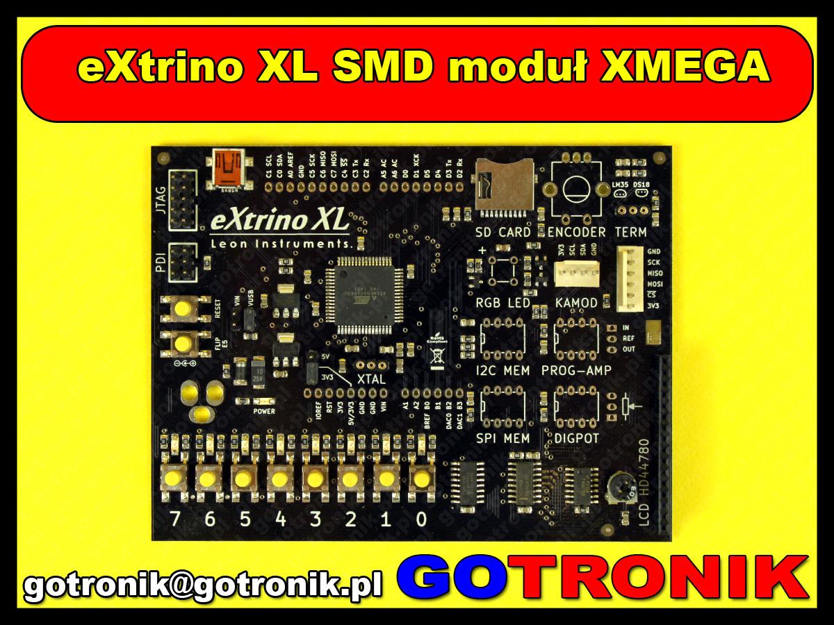 Ready for XMEGA - AVR XMEGA Development Board