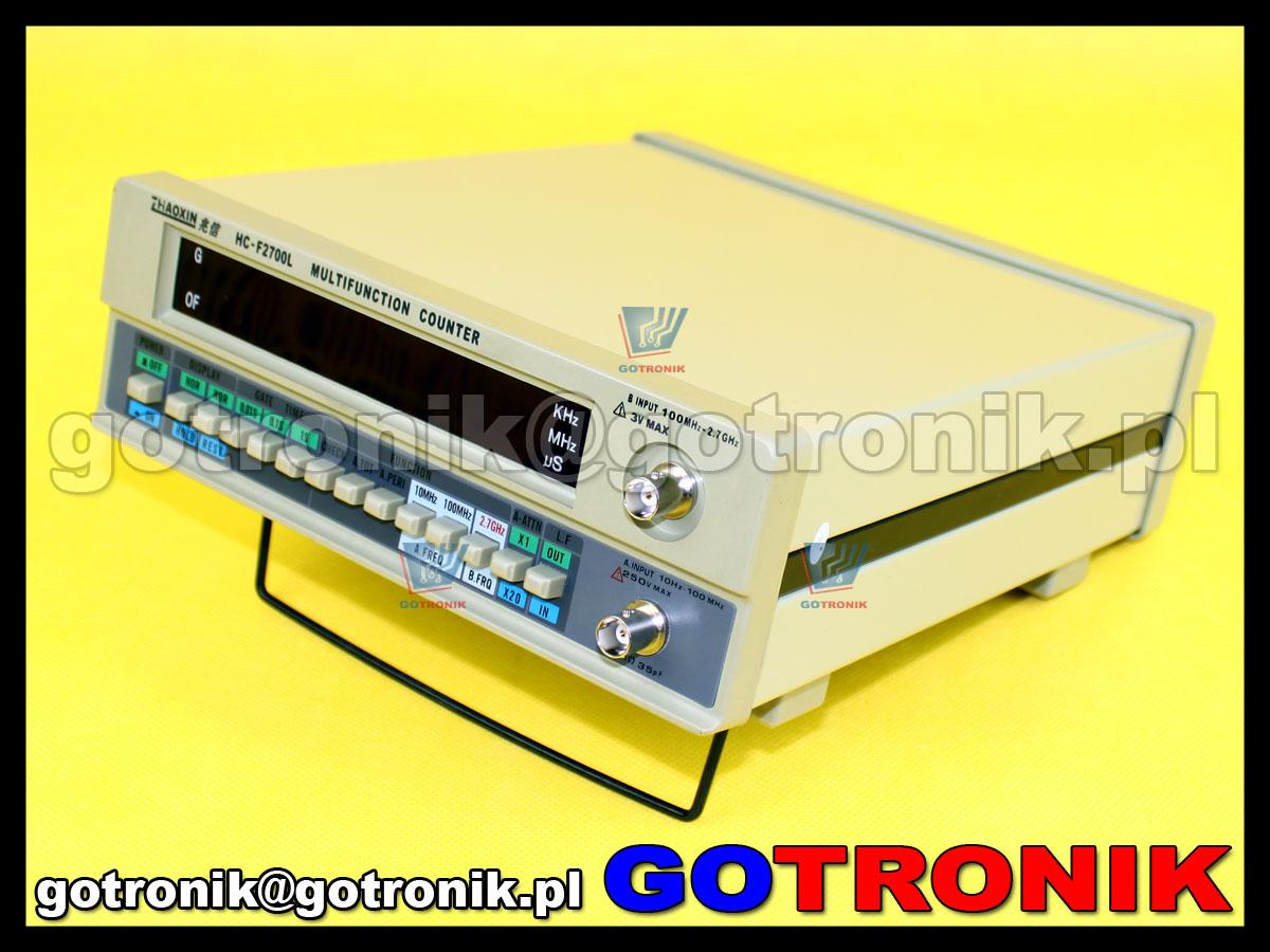 Miernik częstotliwości licznik częstotliwości F2700L 2,7GHz Zhaoxin