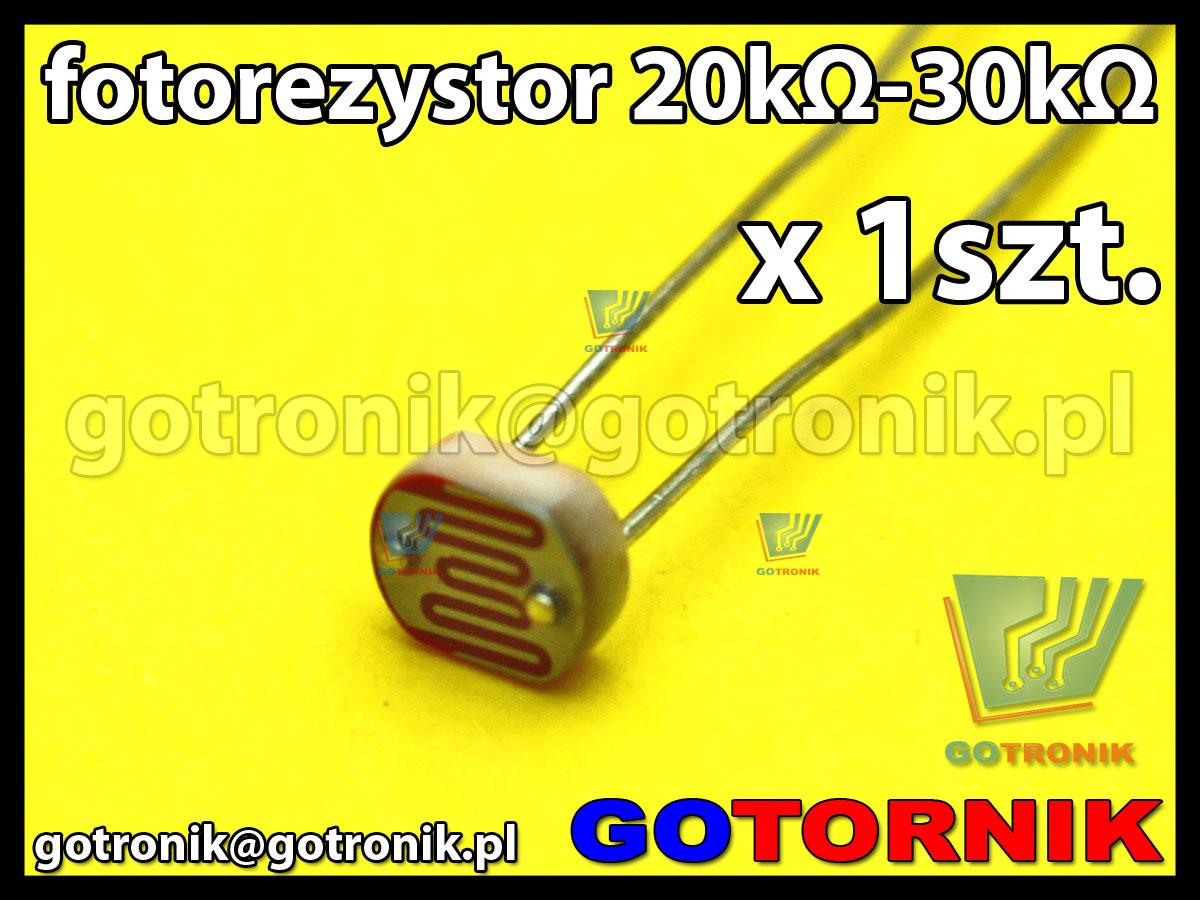 fotorezystor 20kΩ-30kΩ