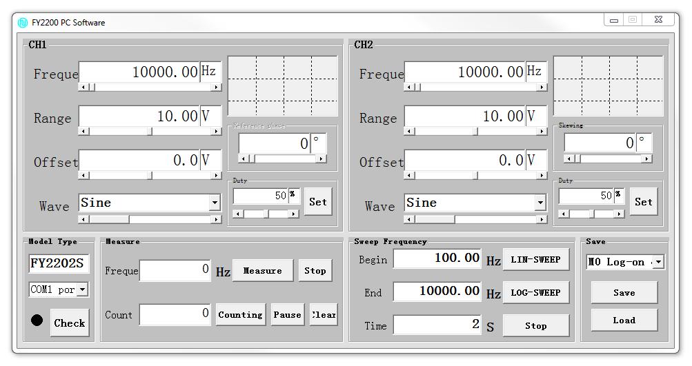 oprogramowanie PC Felltech FZ2200S