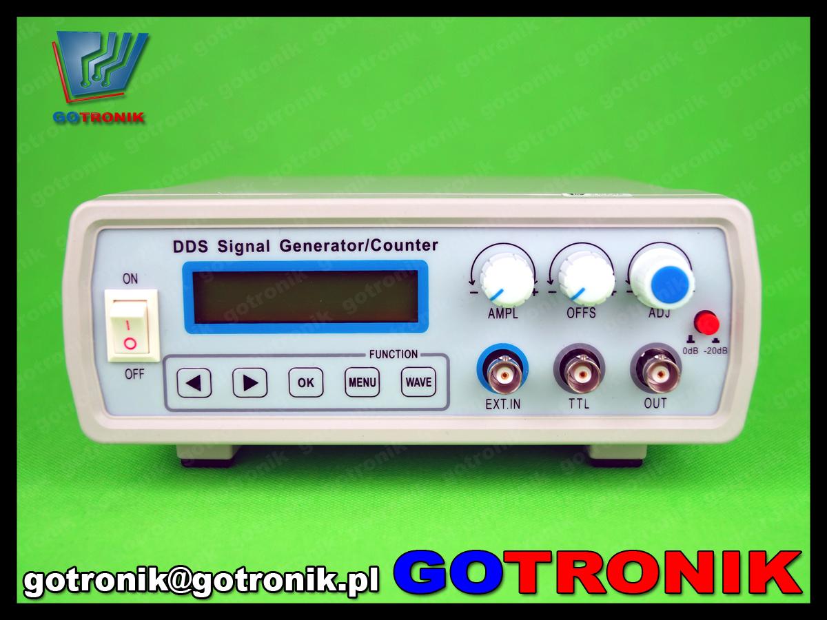 FY2105S FY2100S FeelTech generator funkcyjny DDS 5MHz laboratoryjny sin sweep LCD