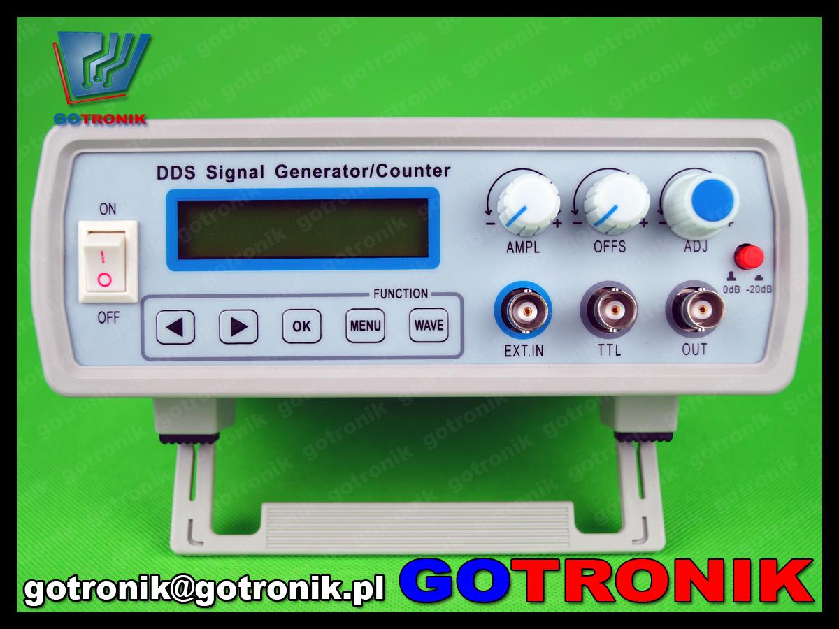 FY2112S FY2100S FeelTech generator funkcyjny DDS 12MHz laboratoryjny sin sweep LCD