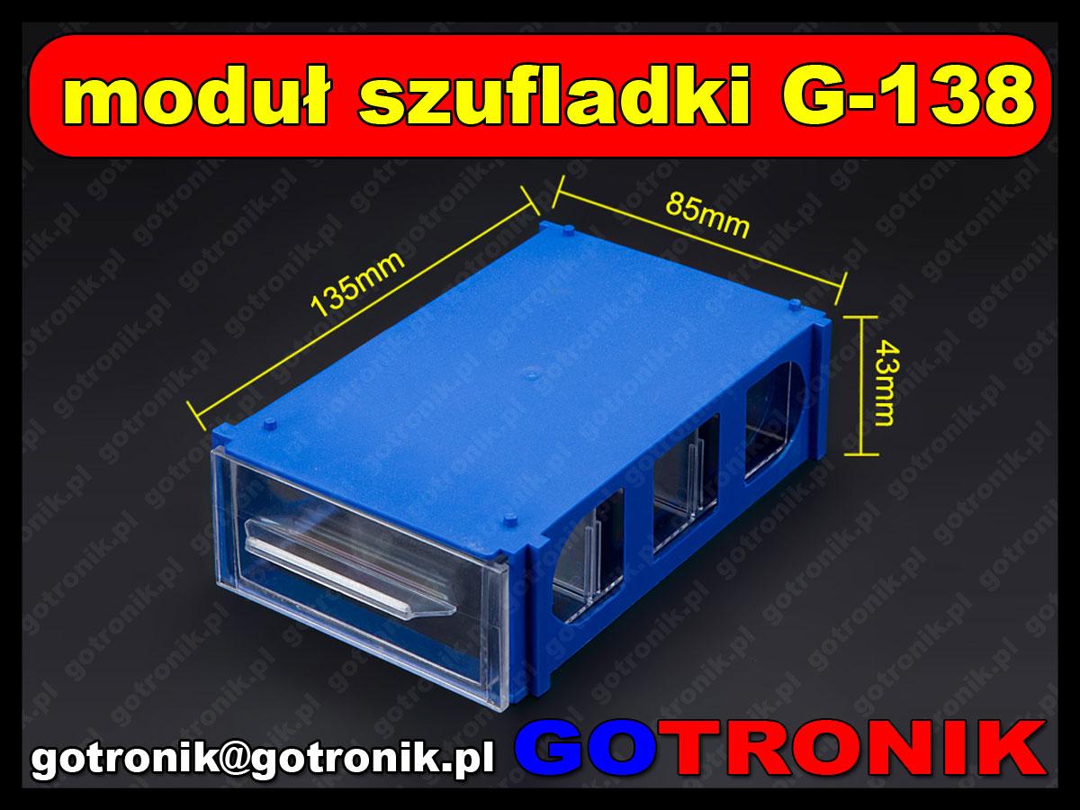 Moduł szufladki magazynowej G-138