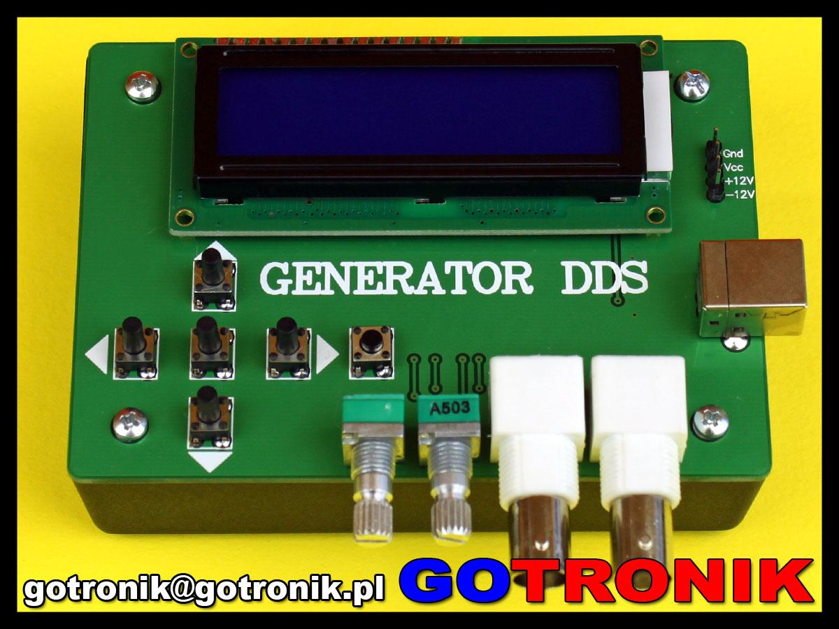 Generator sygnałowy funkcyjny DDS