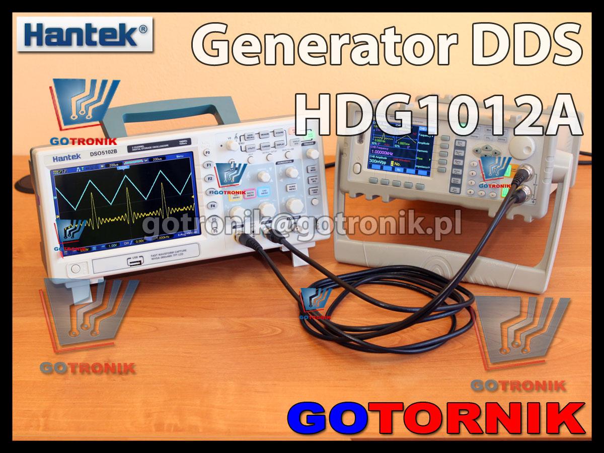 Generator funkcyjny arbitralny DDS HDG1012A Hantek