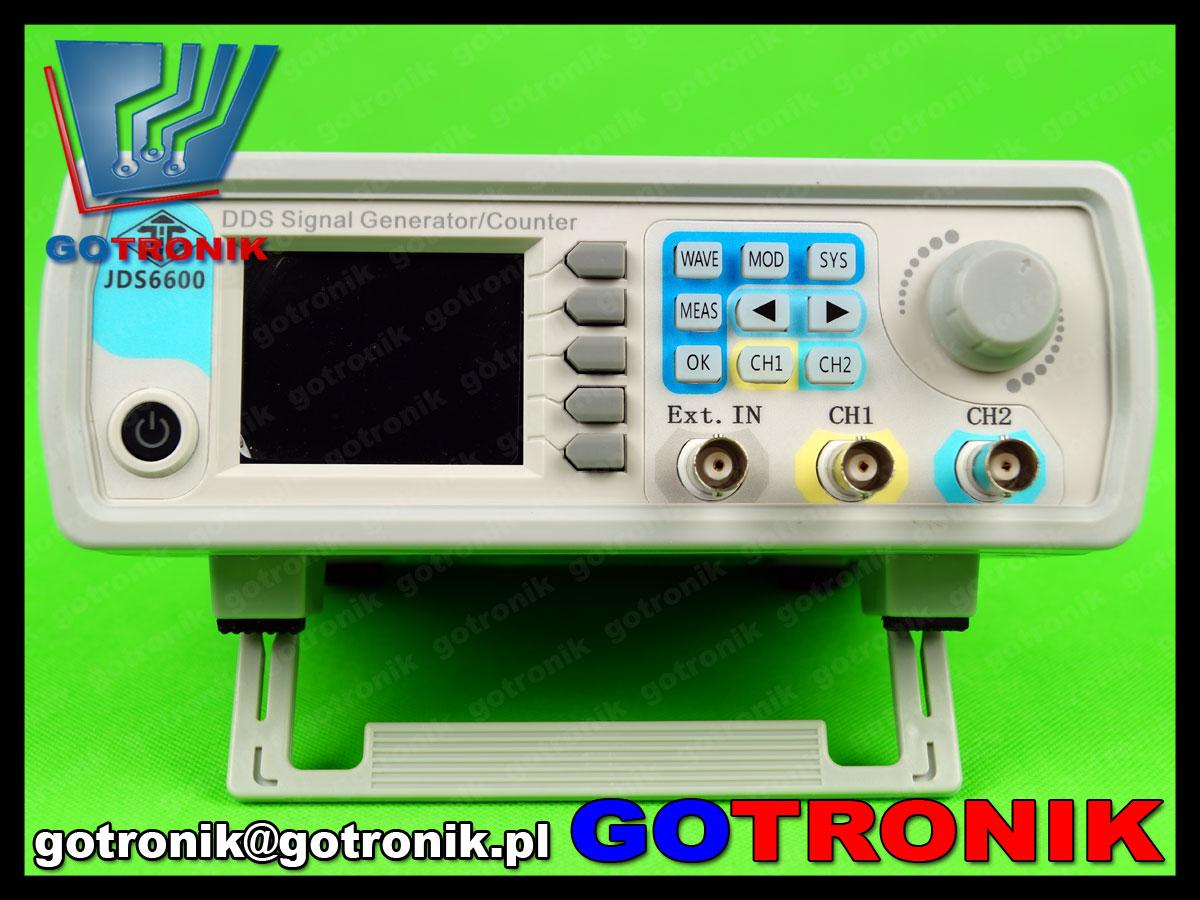 JDS6600 generator sygnałowy dds o regulowanych parametrach