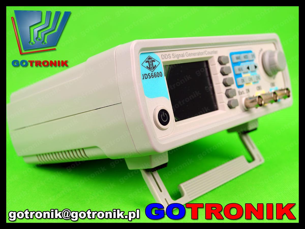 laboratoryjny generator przebiegów funkcyjnych JDS6600