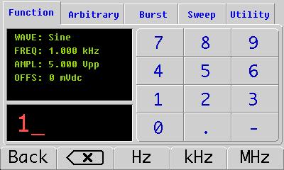 GK101 generator funkcyjny DDS gingko