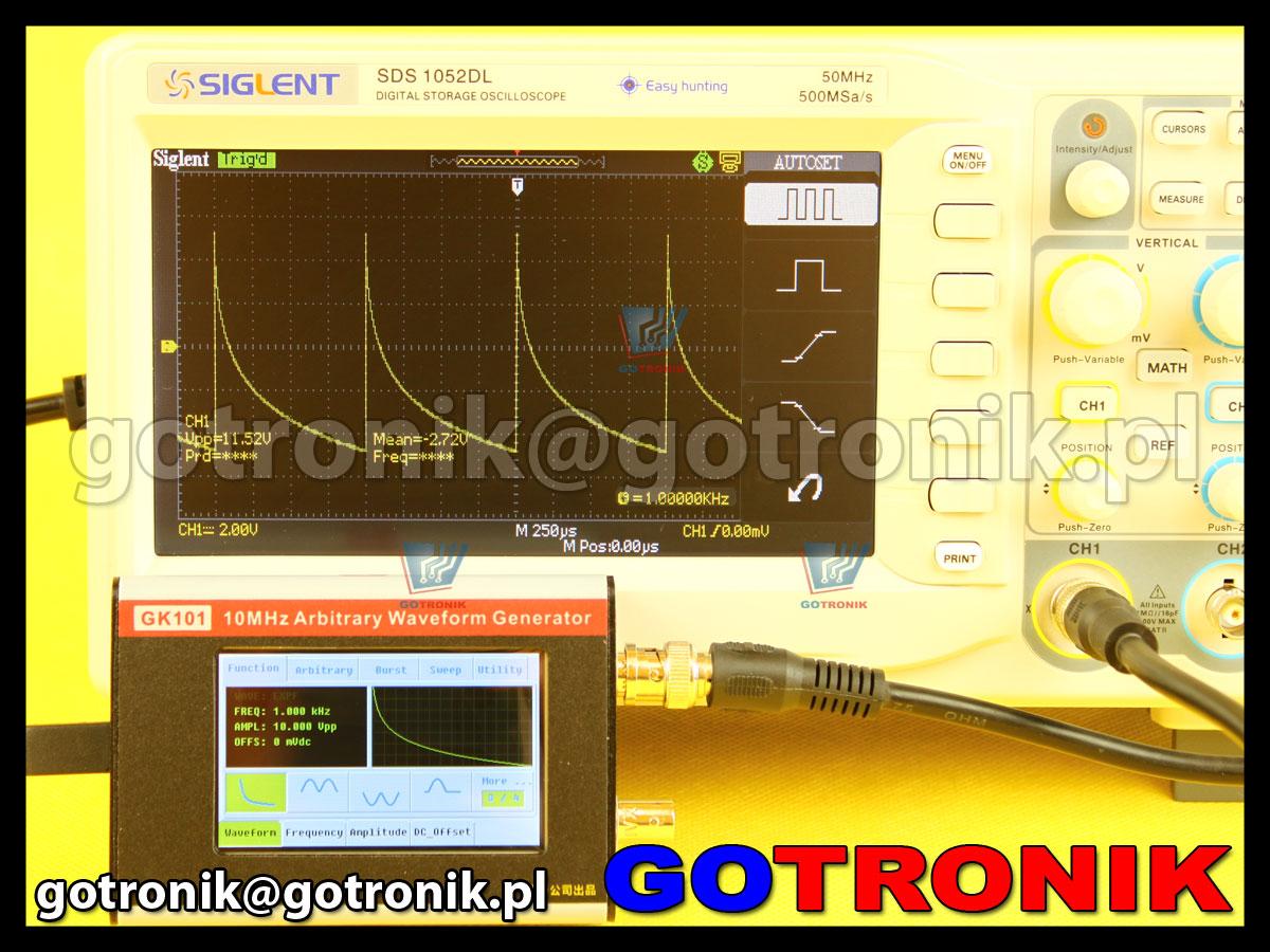 Generator GK101 gingko funkcyjny DDS 10MHz