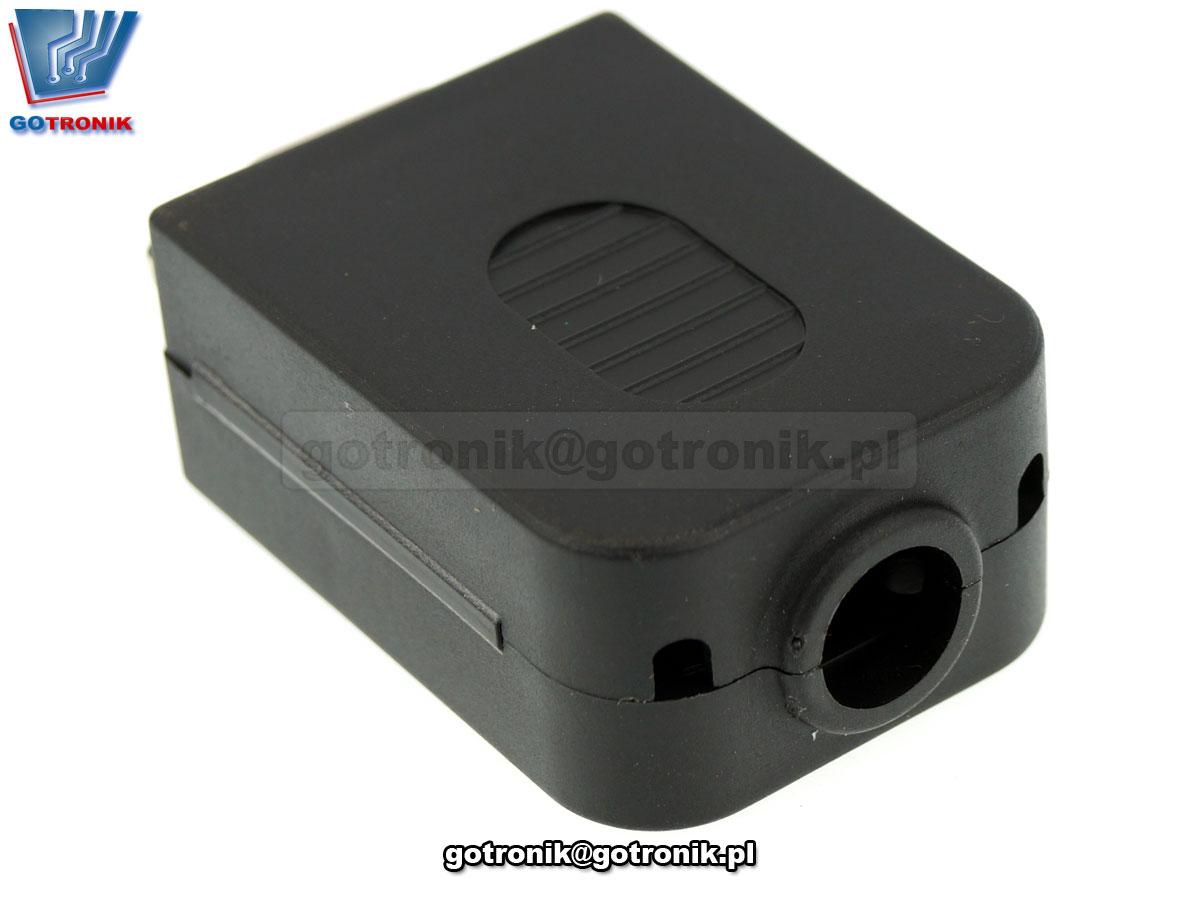 Gniazdo D-SUB 9 pin z szybkozłączem w obudowie Z280