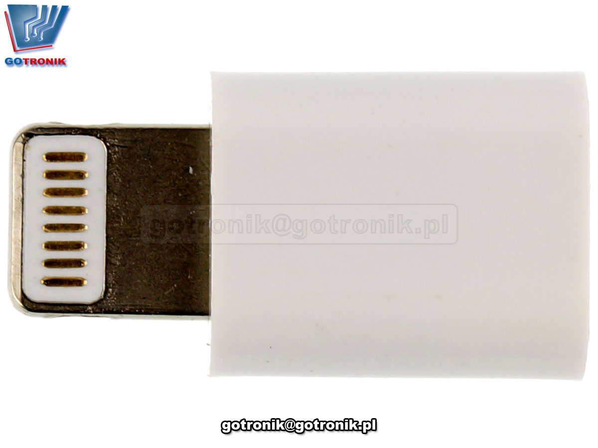 Adapter / przejściówka micro USB - Lightning iPhone GOT-033