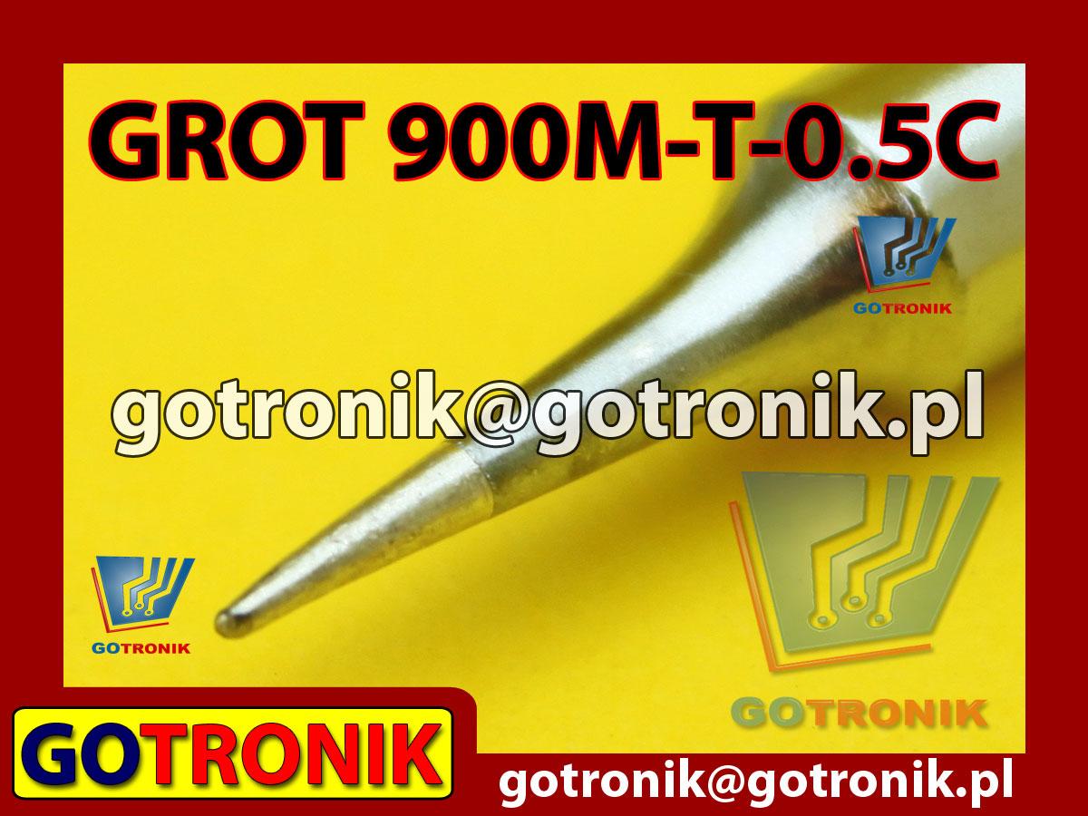 Grot 900M-T-LB ścięty 0,5mm Zhaoxin 936a 936d 852D 898d 868 d Aoyue PT WEP Yihua