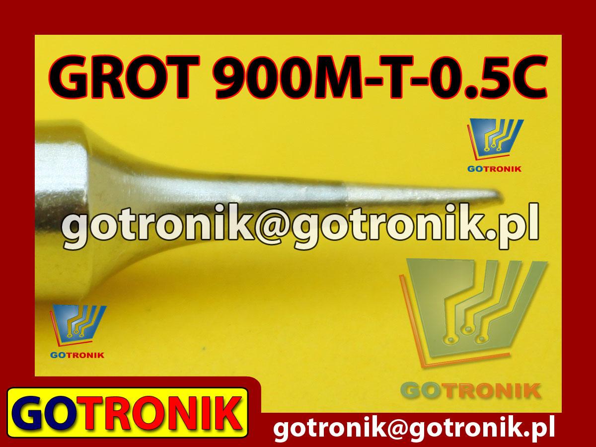 Grot 900M-T-B ścięty 0,5mm Zhaoxin 936a 936d 852D 898d 868 d Aoyue PT WEP Yihua
