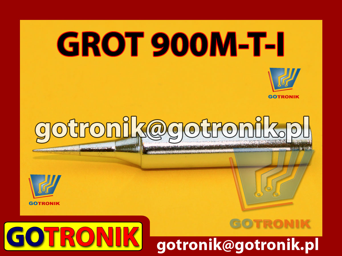 Grot 900M-T-I stożek 0,5mm Zhaoxin 936a 936d 852D 898d 868 d Aoyue PT WEP Yihua