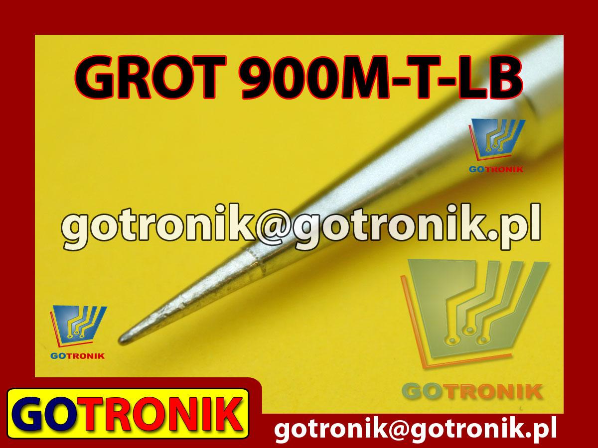 Grot 900M-T-LB ostry 0,2mm Zhaoxin 936a 936d 852D 898d 868 d Aoyue PT WEP Yihua