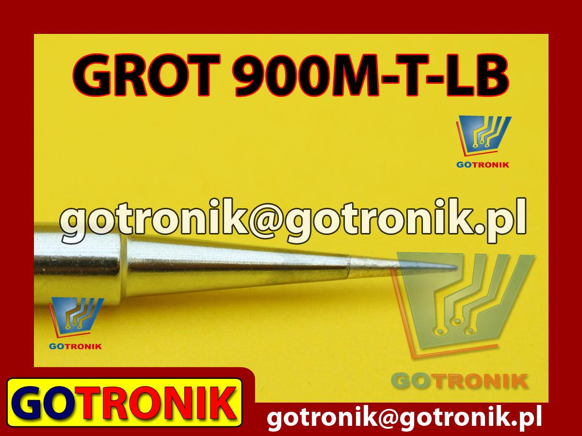 Grot 900M-T-B ostry 0,2mm Zhaoxin 936a 936d 852D 898d 868 d Aoyue PT WEP Yihua