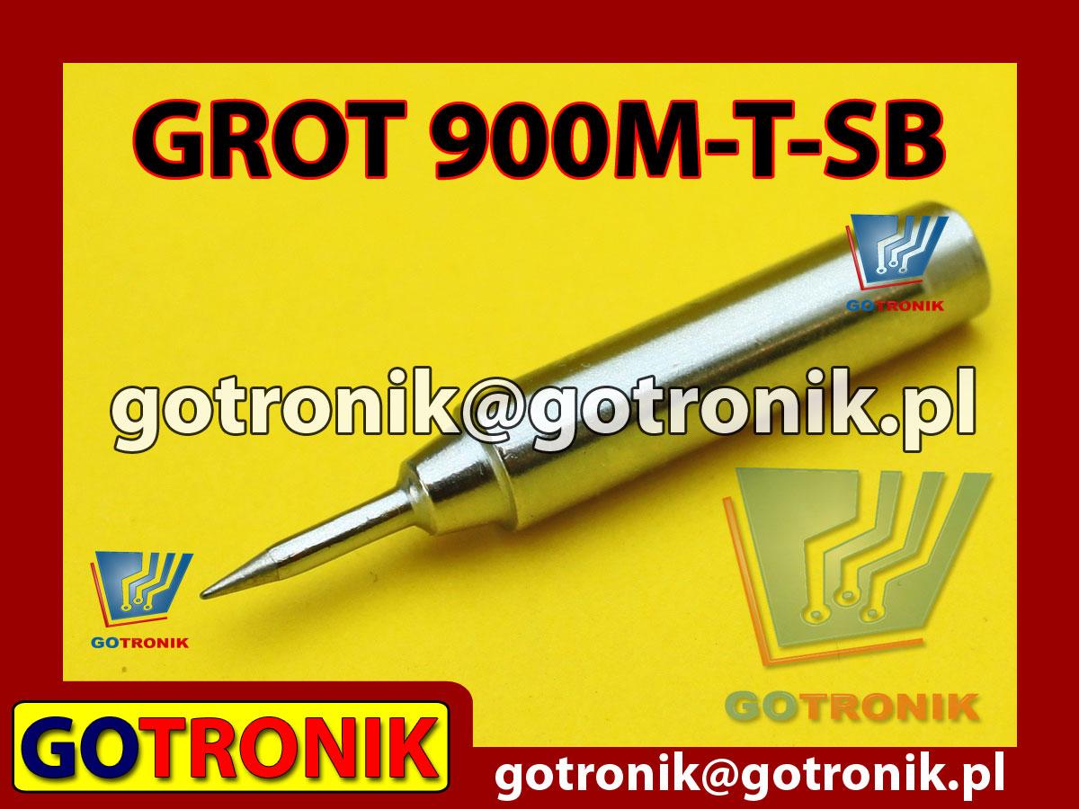 Grot 900M-T-SB ostry 0,2mm Zhaoxin 936a 936d 852D 898d 868 d Aoyue PT WEP Yihua