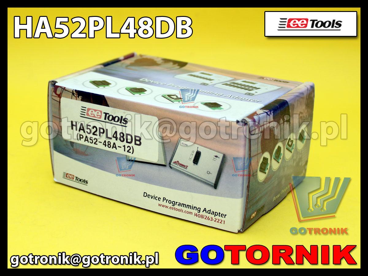 Adapter PLCC52 to DIP48 PA52-48A-1/HA52PL48D do programatorów ChipMax2 i TopMax2