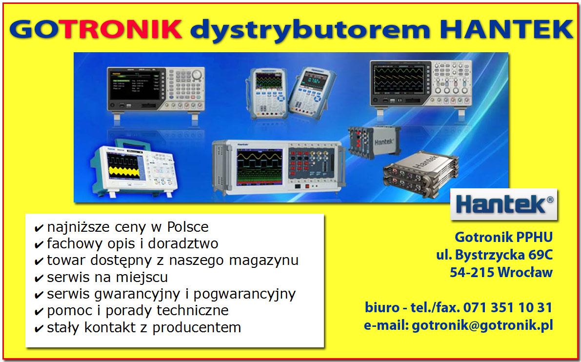 Gotronik dystrybutor Hantek