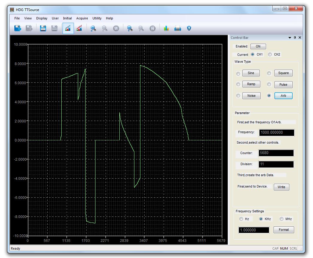 HDG2000B Hantek oprogramowanie software